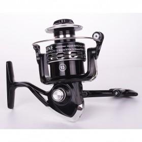 Debaone Dark Spider DS4000 Spinning Reel Pancing 5.2:1 12+1 Ball Bearing - Black - 2