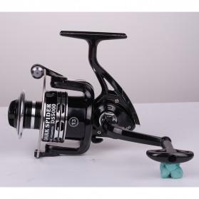 Debaone Dark Spider DS4000 Spinning Reel Pancing 5.2:1 12+1 Ball Bearing - Black - 3