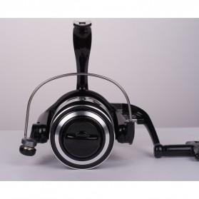 Debaone Dark Spider DS4000 Spinning Reel Pancing 5.2:1 12+1 Ball Bearing - Black - 5