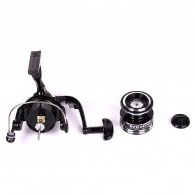 Debaone Dark Spider DS4000 Spinning Reel Pancing 5.2:1 12+1 Ball Bearing - Black - 7