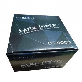 Debaone Dark Spider DS4000 Spinning Reel Pancing 5.2:1 12+1 Ball Bearing - Black - 8