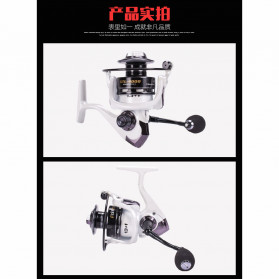 Debao XTL2000 Spinning Reel Pancing 5.2:1 13+1 Ball Bearing - White - 9