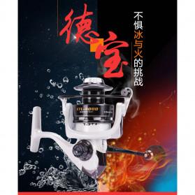 Debao XTL3000 Spinning Reel Pancing 5.2:1 13+1 Ball Bearing - White - 3