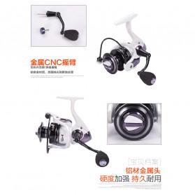 Debao Fishman XTL4000 Spinning Reel Pancing 5.2:1 13+1 Ball Bearing - White - 7
