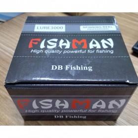 Debao Fishman XTL4000 Spinning Reel Pancing 5.2:1 13+1 Ball Bearing - White - 12