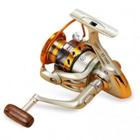YUMOSHI REELSKING EF5000 Reel Pancing Spinning 12 Ball Bearing - Silver - 2