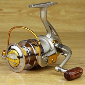 YUMOSHI REELSKING EF5000 Reel Pancing Spinning 12 Ball Bearing - Silver - 4
