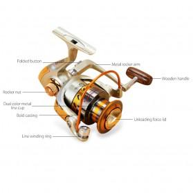 YUMOSHI REELSKING EF5000 Reel Pancing Spinning 12 Ball Bearing - Silver - 5