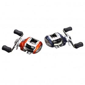 YUMOSHI LV200 Reel Pancing 12+1 Ball Bearing - Tangan Kiri - Orange - 2