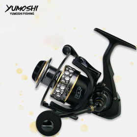 YUMOSHI XC5000 Reel Pancing Spinning 5.5:1 14 Ball Bearing