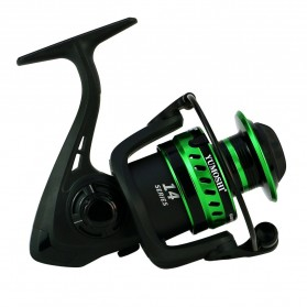 Yumoshi LT4000 Series Reel Pancing Fishing Reel 5.2:1 Gear Ratio - Green - 7