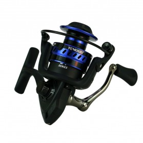 Yumoshi LT4000 Series Reel Pancing Fishing Reel 5.2:1 Gear Ratio - Green - 9