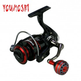 YUMOSHI RS3000 Reel Pancing Spinning 12 Ball Bearing 5.2:1 - Black