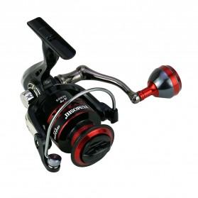 YUMOSHI RS3000 Reel Pancing Spinning 12 Ball Bearing 5.2:1 - Black - 2