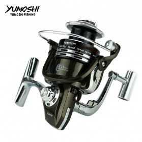 YUMOSHI BY5000 Reel Pancing Spinning 12+1 Ball Bearing 5.2:1 - Black - 6