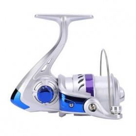 YUMOSHI FF5000 Reel Pancing Spinning 3 Ball Bearing 5.2:1 - Silver
