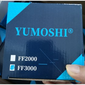 YUMOSHI FF3000 Reel Pancing Spinning 13 Ball Bearing 5.2:1 - Black/Red - 10
