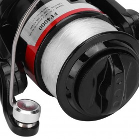 YUMOSHI FF3000 Reel Pancing Spinning 13 Ball Bearing 5.2:1 - Black/Red - 6