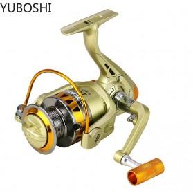 YUMOSHI JF3000 Reel Pancing Spinning 5.2:1 Gear Ratio - Golden
