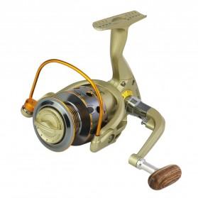 YUMOSHI JX5000 Reel Pancing Spinning 12 Ball Bearing 5.5:1 - Golden