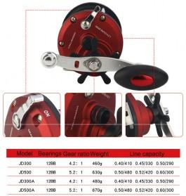 REELSKING JD500A Reel Pancing 12 Ball Bearing - Red - 4