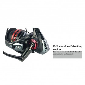 REELSKING XM3000 Reel Pancing 13+1 Ball Bearing - Black - 7