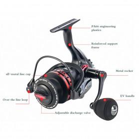 REELSKING XM6000 Reel Pancing 14 Ball Bearing - Black - 4