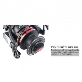 REELSKING XM6000 Reel Pancing 14 Ball Bearing - Black - 5