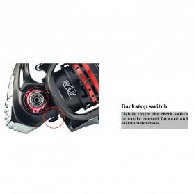 REELSKING XM6000 Reel Pancing 14 Ball Bearing - Black - 8