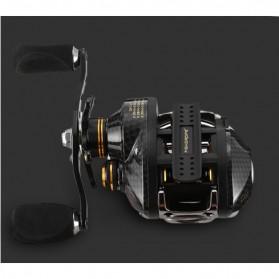 Fishdrops LB200 Reel Pancing 18 Ball Bearing - Tangan Kiri - Gray - 2