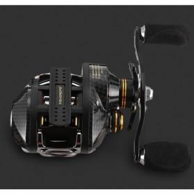 Fishdrops LB200 Reel Pancing 18 Ball Bearing - Tangan Kanan - Gray - 2
