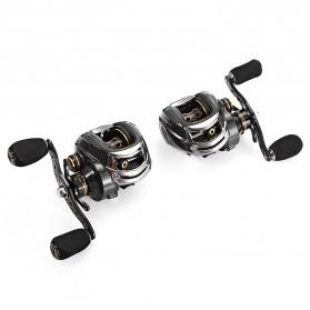 Fishdrops LB200 Reel Pancing 18 Ball Bearing - Tangan Kanan - Gray - 3