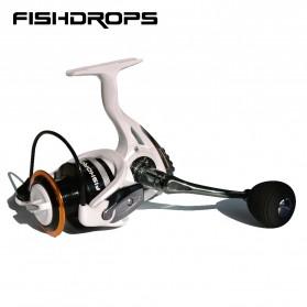 Fishdrops HB3000 Reel Pancing 13 Ball Bearing - White - 2