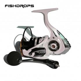 Fishdrops HB3000 Reel Pancing 13 Ball Bearing - White - 5