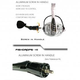 Fishdrops HB3000 Reel Pancing 13 Ball Bearing - White - 9