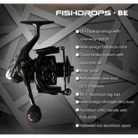 Fishdrops BE6000 Reel Pancing 13 Ball Bearing - Black - 5