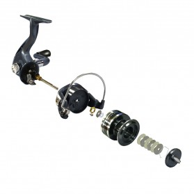 Fishdrops XLBASIC 5000 Reel Pancing - Black - 2