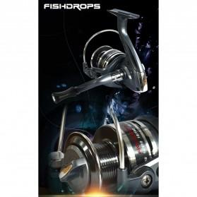 Fishdrops XLBASIC 5000 Reel Pancing - Black - 7