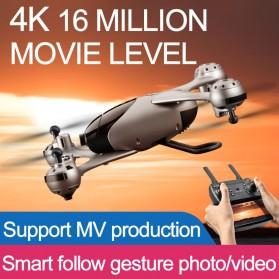 SMRC Quadcopter Drone 4K Camera WiFi FPV Follow Me Altitude Hold - M6 - Silver - 2