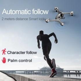 SMRC Quadcopter Drone 4K Camera WiFi FPV Follow Me Altitude Hold - M6 - Silver - 4