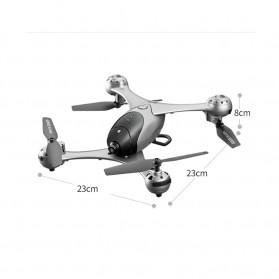 SMRC Quadcopter Drone 4K Camera WiFi FPV Follow Me Altitude Hold - M6 - Silver - 7