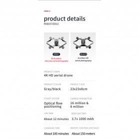 SMRC Quadcopter Drone 4K Camera WiFi FPV Follow Me Altitude Hold - M6 - Silver - 11