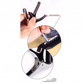 AROMA Capo Gitar Metal Alloy with Bridge Pin Remover - AC-21 - Black - 8