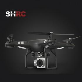 SHRC Quadcopter Drone WiFi dengan Kamera 200W - SH5H - Black