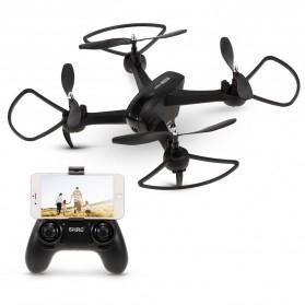 SHRC Drone Selfie WiFi dengan Kamera 1080P & Remote - SH7 - Black