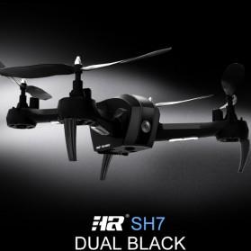 SHRC Drone Selfie WiFi dengan Kamera 1080P & Remote - SH7 - Black - 5