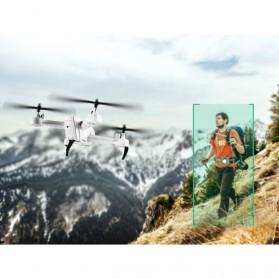 SHRC Drone Selfie WiFi dengan Kamera 1080P & Remote - SH7 - Black - 8