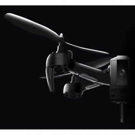 SHRC Drone Selfie WiFi dengan Kamera 1080P & Remote - SH7 - Black - 9