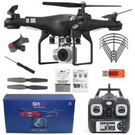 SHRC Quadcopter Drone WiFi dengan Kamera 1080P - SH5H - Black - 11