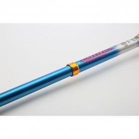 Yuelong Joran Pancing Portable Telescopic Epoxy Resin 2.1M/5 - Blue - 6